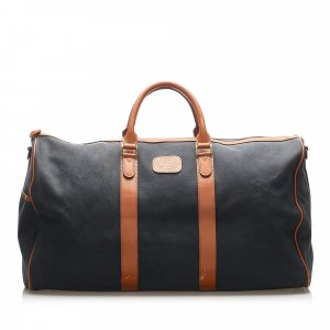 Burberry Canvas Travel Bag