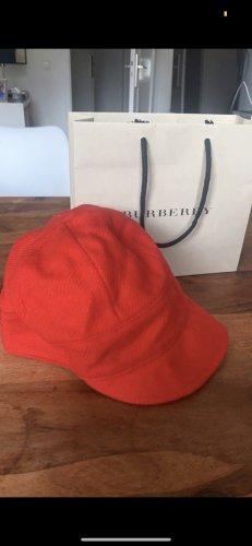 Burberry Chapeau en laine rouge