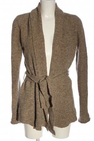 Burberry Cardigan brown flecked casual look