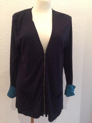 Burberry Long Sweater dark blue-turquoise