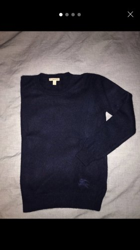 Burberry Cashmere Jumper dark blue