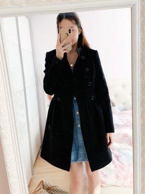 Burberry Winter Coat black wool
