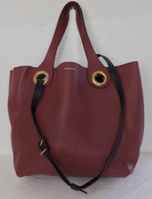 Burberry, Crimson Red Leather Tote/Shoulder Bag, neu, € 1.650,-
