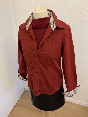 Burberry Damen Bluse Hemd Karo Check L 38