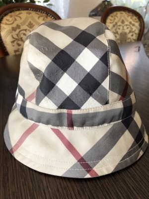 Burberry Cappello cloche multicolore Poliestere