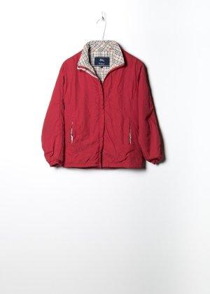 Burberry Damen Outdoor Jacke in Rot