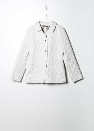 Burberry Giubbino bianco Cotone