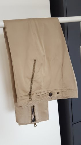 Burberry London Jersey Pants camel-black cotton