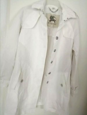 Burberry London Short Coat white cotton
