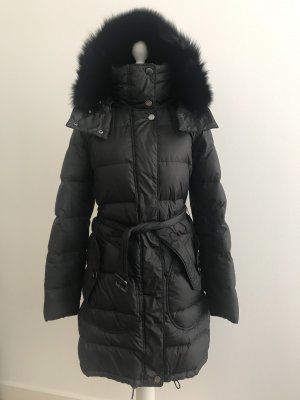 Burberry Quilted Coat black