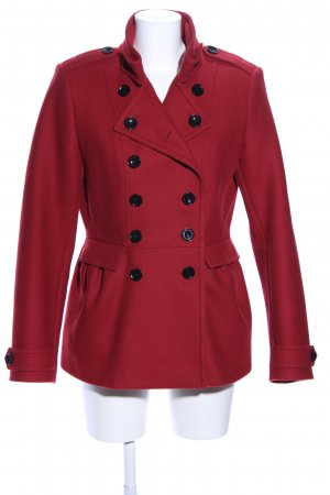 Burberry Duffle-coat rouge style d'affaires
