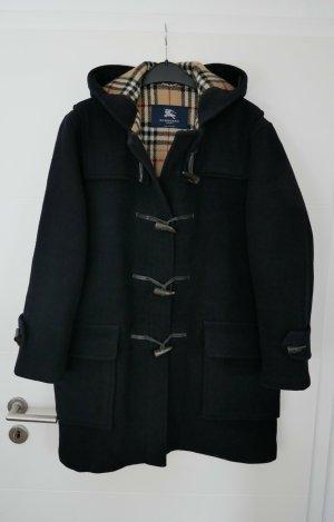 Burberry Duffle-coat bleu foncé laine