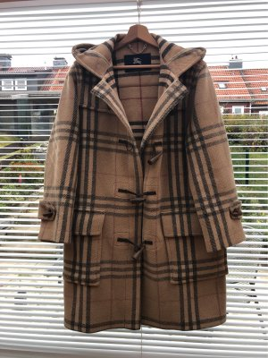 Burberry Duffle-coat multicolore laine