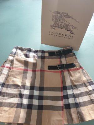 Burberrys of London Plaid Skirt light brown-beige