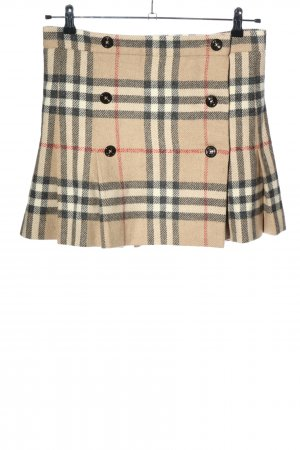 Burberry Plaid Skirt allover print casual look