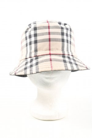 Burberry Bucket Hat check pattern casual look
