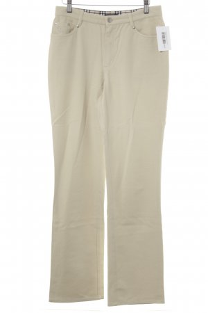 Burberry Five-Pocket Trousers cream casual look