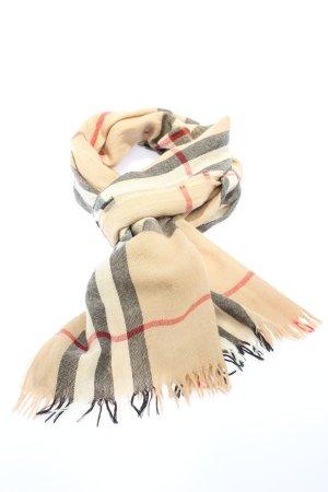 Burberry Sjaal met franjes veelkleurig casual uitstraling