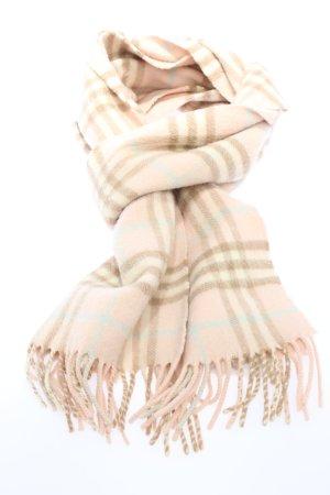 Burberry Sjaal met franjes gestreept patroon casual uitstraling