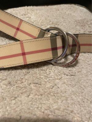Burberry Cintura di pelle multicolore