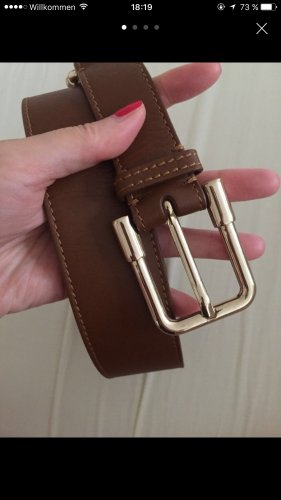 Burberry Leather Belt cognac-coloured