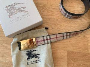 Burberry Boucle de ceinture multicolore