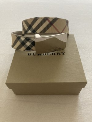 Burberry London Cintura in tela beige chiaro