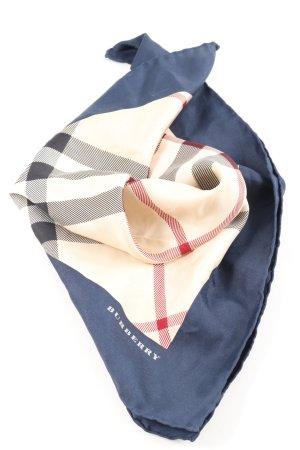 Burberry Neckerchief check pattern casual look