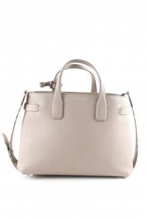 Burberry Handtasche hellgrau Business-Look