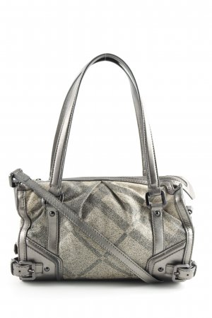 Burberry Handbag light grey-khaki graphic pattern business style