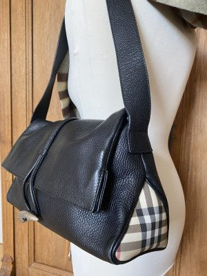 Burberry Handtasche, schwarz, Topzustand