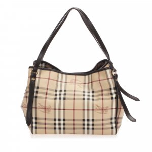 Burberry Borsa larga beige