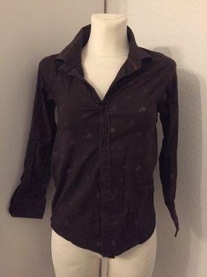 Burberry Brit Long Sleeve Shirt dark brown-brown