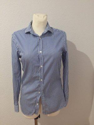 Burberry Long Sleeve Shirt white-blue