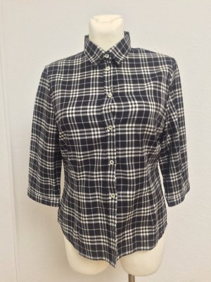 Burberry Long Sleeve Shirt black-white