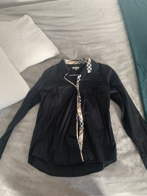 Burberry London Long Sleeve Shirt black-beige