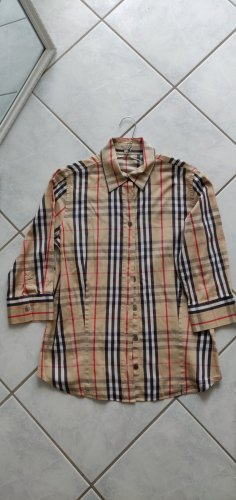Burberry Shirt Blouse light brown-red