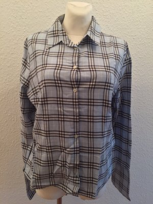 Burberry London Shirt Blouse azure-dark blue