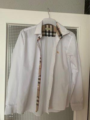 Burberry Brit Camicia di flanella bianco