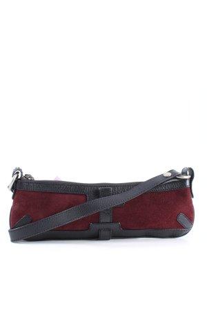 Burberry Henkeltasche rot-schwarz Casual-Look
