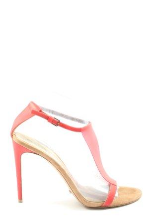 Burberry High Heel Sandal red elegant