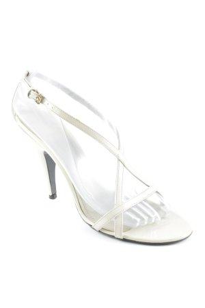 Burberry High Heel Sandaletten creme Elegant