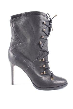 Burberry High Heel Boots black casual look