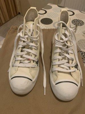Burberry High Top Sneaker cream