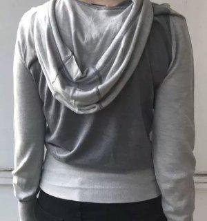 Burberry Maglione con cappuccio grigio chiaro-grigio scuro