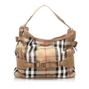 Burberry House Check Brecon Shoulder Bag