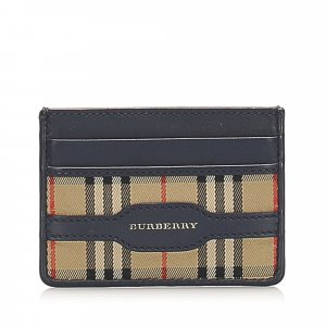 Burberry House Check Canvas Coin Pouch