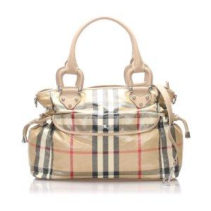 Burberry House Check Diaper Bag