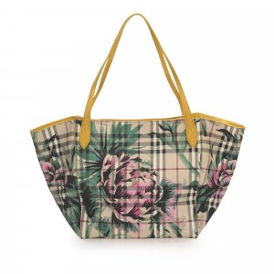 Burberry House Check Floral Travel Bag