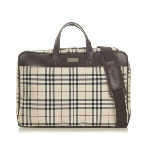 Burberry Business Bag beige nylon